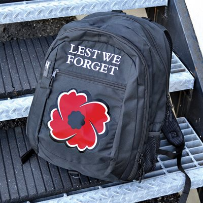 BACKPACK LEST WE FORGET