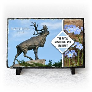 PLAQUE BEAUMONT-HAMEL, SLATE