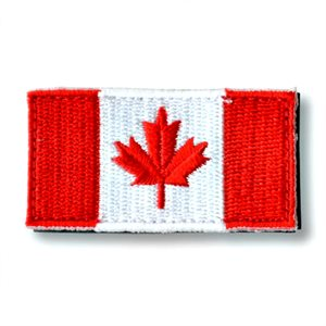 "PATCH CANADA FLAG 1"" X 2"" HOOK & LOOP"