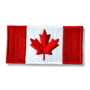 "PATCH CANADA FLAG 1.5"" X 3"""