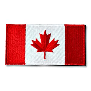 "PATCH CANADA FLAG 2"" X 4"" HOOK & LOOP"