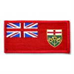 "PATCH ONTARIO FLAG 2"" X 4"""