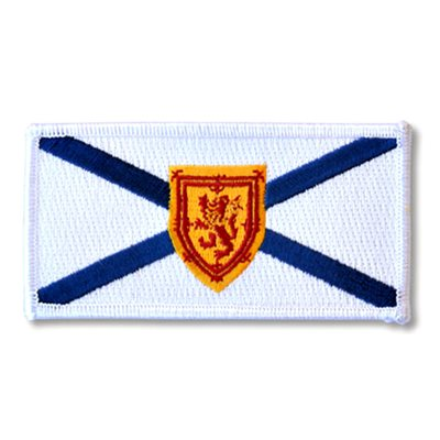 "PATCH NOVA SCOTIA FLAG 2"" X 4"""