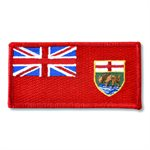 "PATCH MANITOBA FLAG 2"" X 4"""