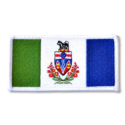 "PATCH YUKON FLAG 2"" X 4"""