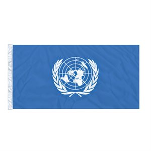 FLAG UNITED NATIONS 6'X3' SLEEVED