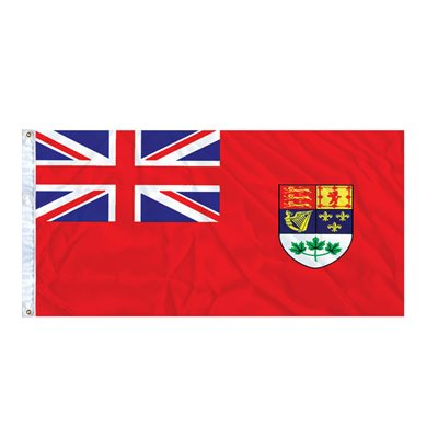 DRAPEAU RED ENSIGN 6' X 3' OEILLETS (2)