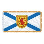 "FLAG NOVA SCOTIA  54"" X 27"" SLEEVED & FRINGED"