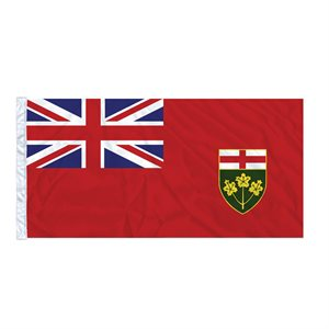 FLAG ONTARIO  6' X 3' SLEEVED