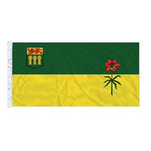 FLAG SASKATCHEWAN  6' X 3' SLEEVED
