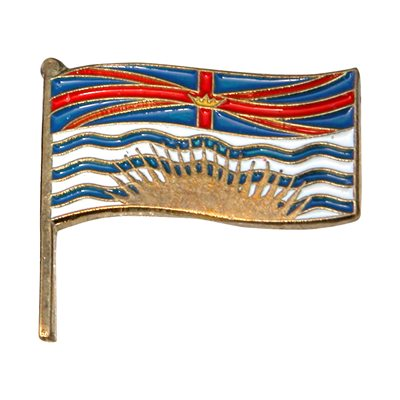 PIN BRITISH COLUMBIA