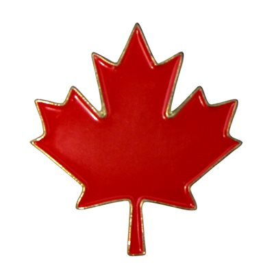 PIN MAPLE LEAF
