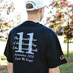 "T-SHIRT ""LEST WE FORGET"" - PETIT"