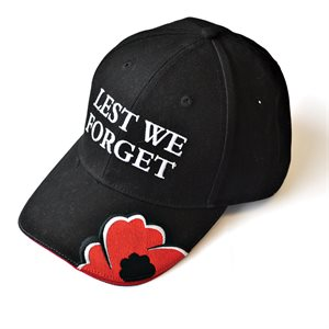 "CASQUETTE DE BALLE ""LEST WE FORGET"""