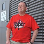 T-SHIRT CANADA - LARGE