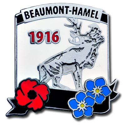LAPEL PIN BEAUMONT-HAMEL