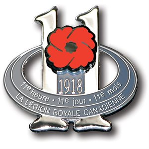 LAPEL PIN ARMISTICE DAY (FRENCH)