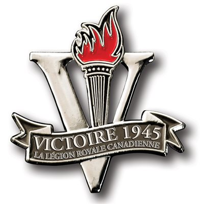 LAPEL PIN VICTOIRE 1945 (FRENCH)