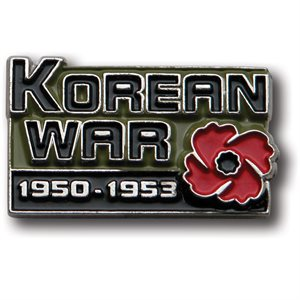 LAPEL PIN  KOREAN WAR